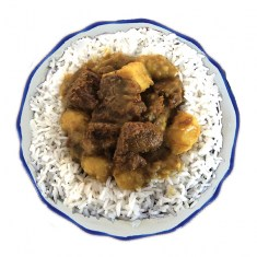 Malaysian curry beef